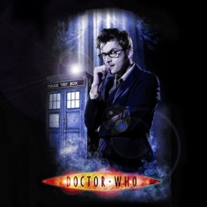 Doctor Who, Blue with Lens Flares